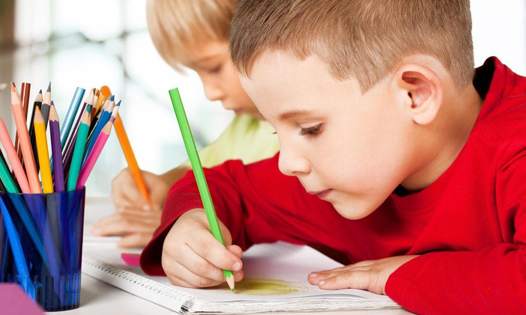 Kindergarten Program - Kids Coloring
